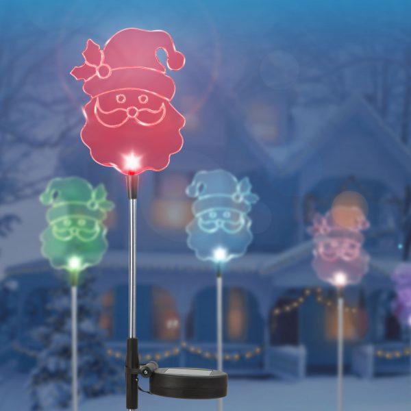 LED solarna svetilka božiček