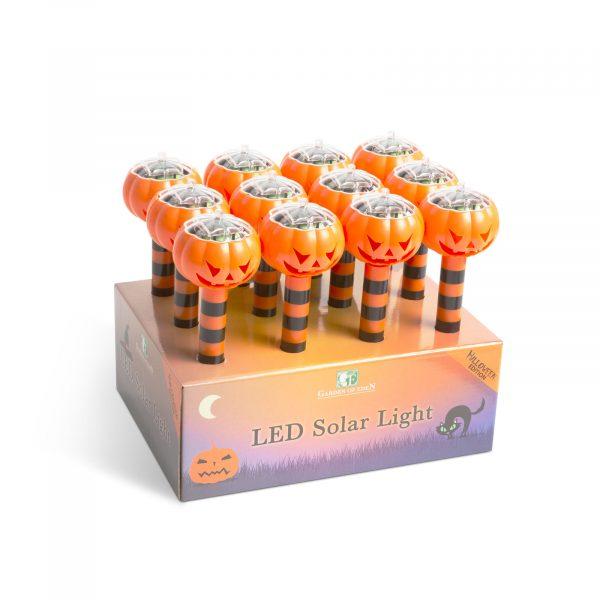 LED solarna svetilka - buča