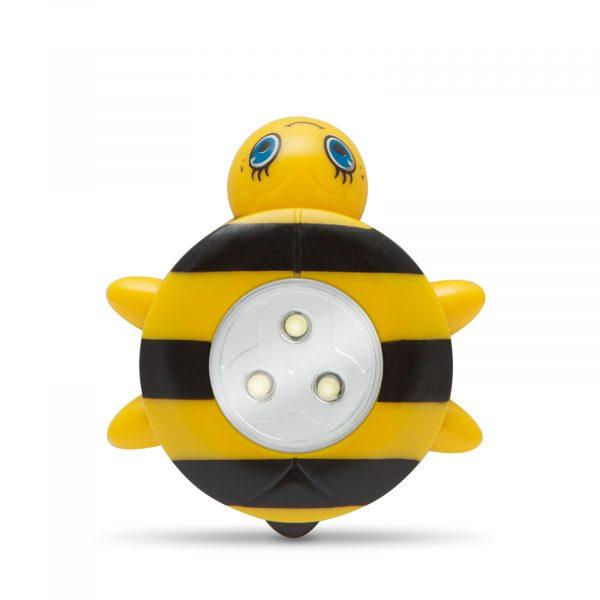 LED svetilka s potisnim stikalom - čebela