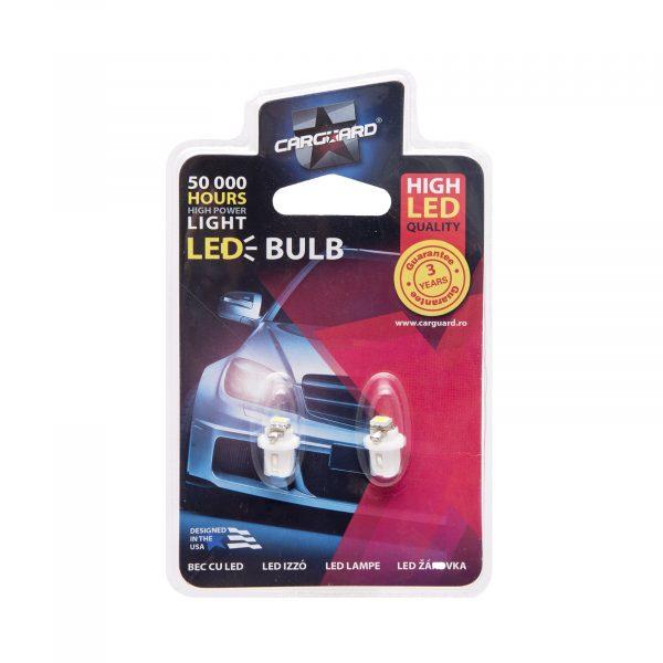 LED žarnica - sijalka - 0,25W • B8, 5d • 18 lumnov - 2 kos / blister