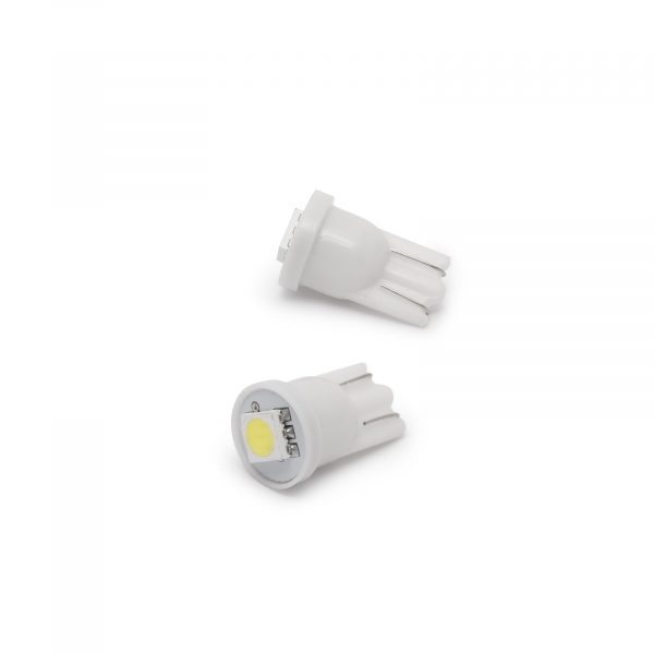 LED žarnica - sijalka - 0,25W • T10 • 18 lumnov - 2 kosa / blister