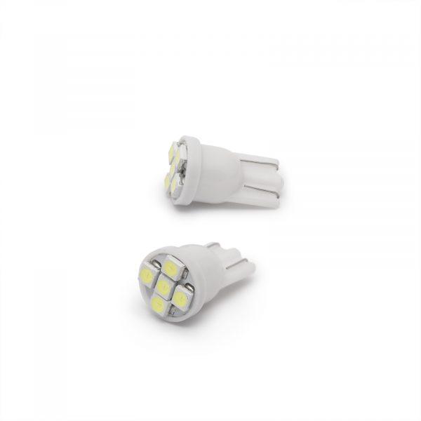 LED žarnica - sijalka - 0,5W • T10 • 35 lumnov - 2 kosa / blister
