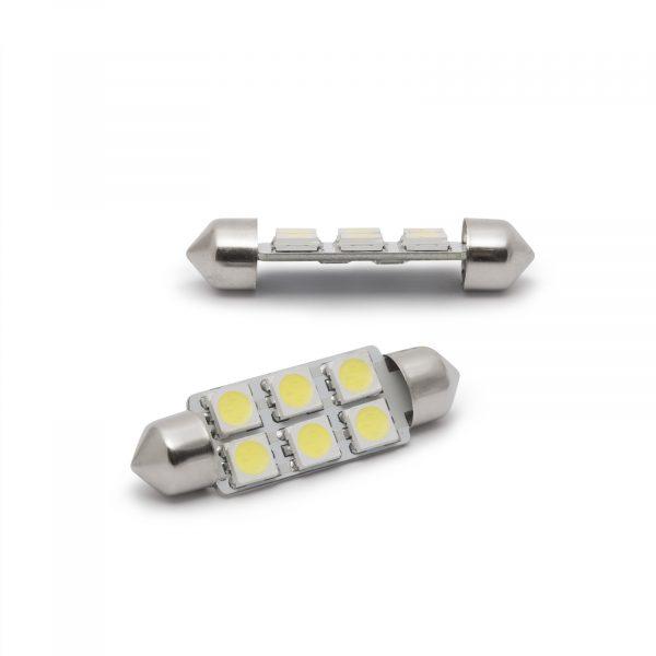 LED žarnica - sijalka - 1,5 W • Sofit 36 mm - 108 lumnov, 2 kosa / blister