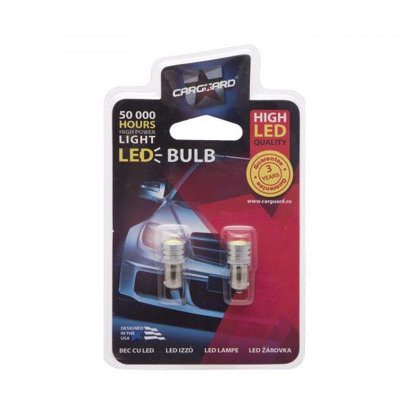 LED žarnica - sijalka - 1W • BA9S • 60 lumnov, 2 kos / blister