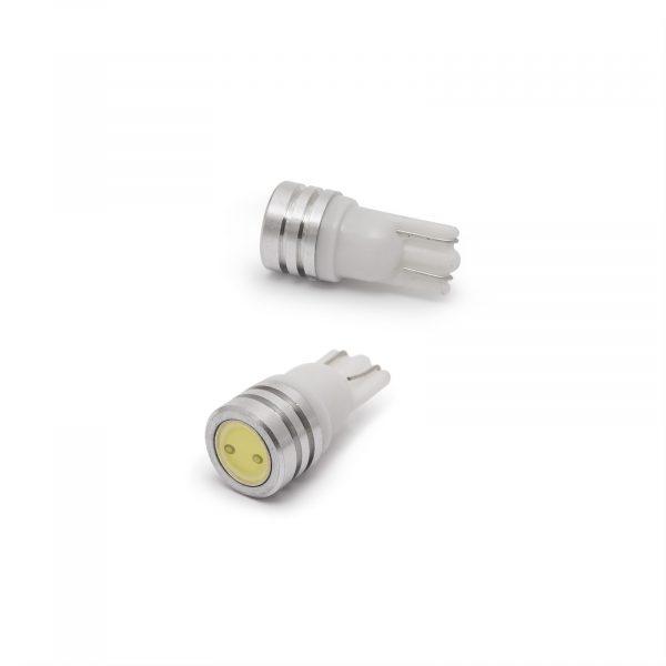 LED žarnica - sijalka - 1W • T10 • 60 lumnov - 2 kos / blister