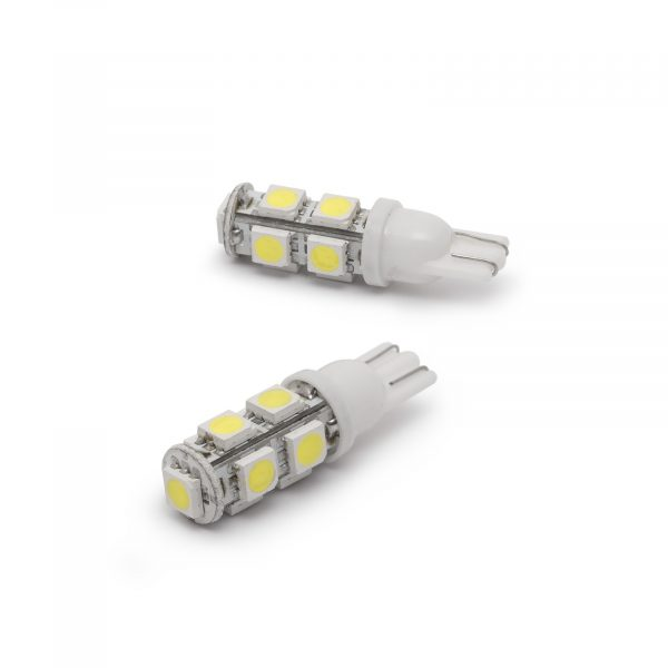 LED žarnica - sijalka - 2,25W • T10 • 162 lumnov - 2 kosa / blister