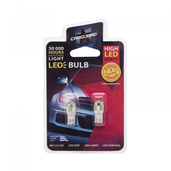 LED žarnica - sijalka - 2,5W • T10 • 180 lumnov, 2 kos / blister