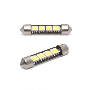 LED žarnica - sijalka Canbus - 3W • Sofit 39 mm - 72 lumnov, 2 kos / blister
