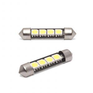 LED žarnica - sijalka Canbus - 3W • Sofit 41 mm - 72 lumnov, 2 kos / blister