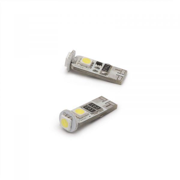 LED žarnica - sijalka Canbus - 3W • T10 • 54 lumnov - 2 kos / blister