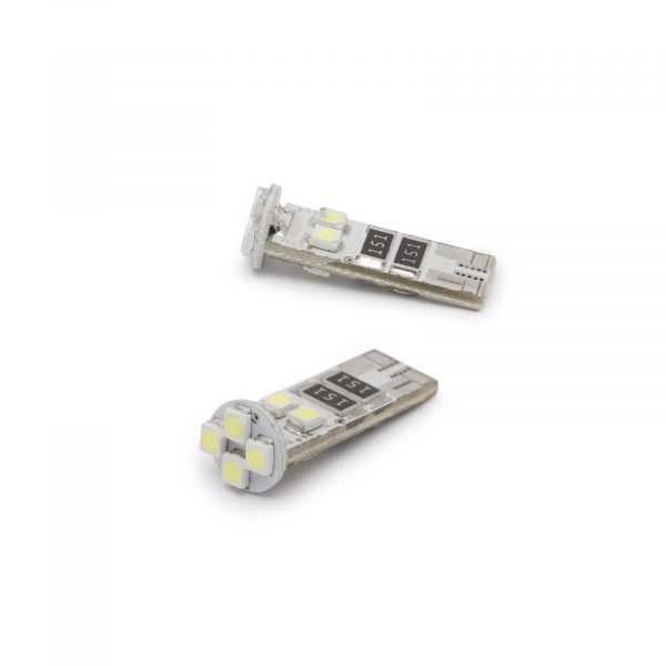 LED žarnica - sijalka Canbus - 3W • T10 • 56 lumnov, 2 kos / blister