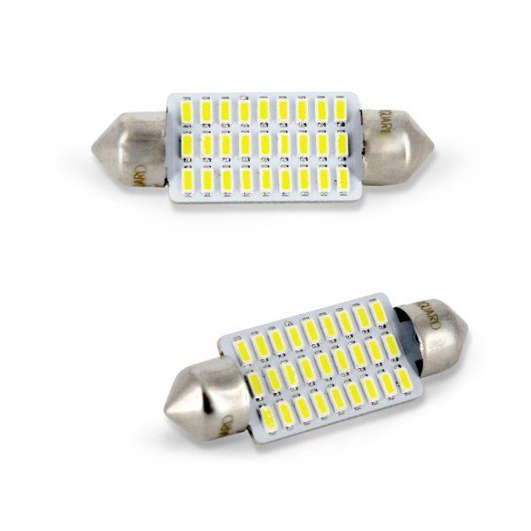 LED žarnica - sijalka - Sofit 10x 339 mm - 1,5W - 189 lumnov - 27 LED - 2 kos / blister