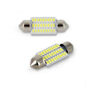 LED žarnica - sijalka - Sofit 10x 35 mm - 1W - 90 lumnov - 18 LED - 2 kos / blister
