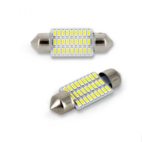 LED žarnica - sijalka - Sofit 10x 35 mm - 1W - 90 lumnov - 18 LED - 2 kos / blister