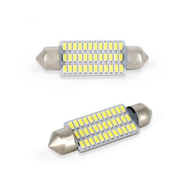 LED žarnica - sijalka - Sofit 10x 41 mm - 1,5W - 252 lumnov - 36 LED - 2 kos / blister