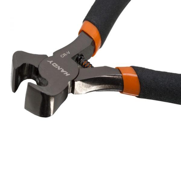 Mini klešče za rezanje z zgornjim delom z gumiranim ročajem - 115 mm