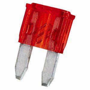 Mini varovalka - 11 x 8,6 mm - 10 A