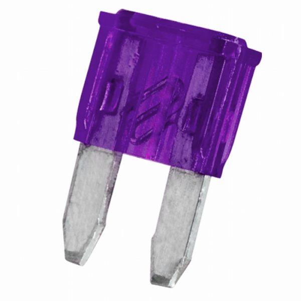 Mini varovalka - 11 x 8,6 mm - 3 A