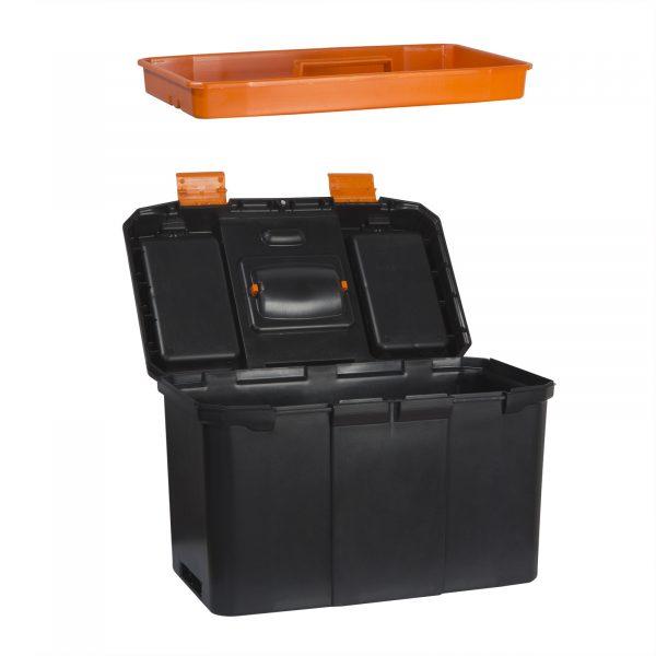 """Mobilni večdelni plastični kovček za orodje na kolesih - 18 """" - 460 x 260 x 625 mm"""