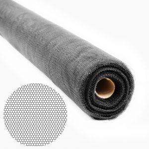 Mreža proti komarjem - rezalna - 100cm x 30 m - črna