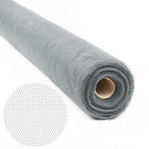 Mreža proti komarjem - rezalna - 100cm x 30 m - siva