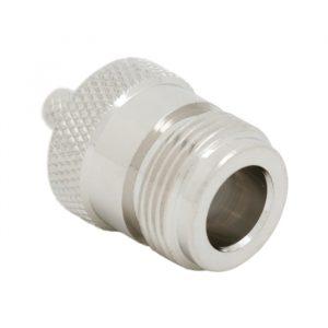 N vtičnica za RG58 • 50 ohm - tip za stiskanje - pozlačeni zatič