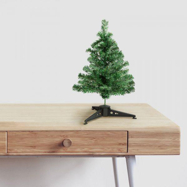 Namizna umetna božična jelka mini - 30 cm