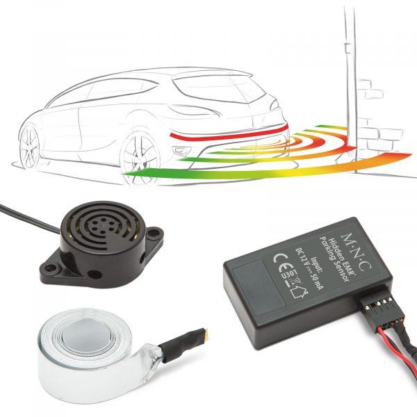 Nevidni parkirni senzorji EMR brez vrtanja 220 cm z alarmom