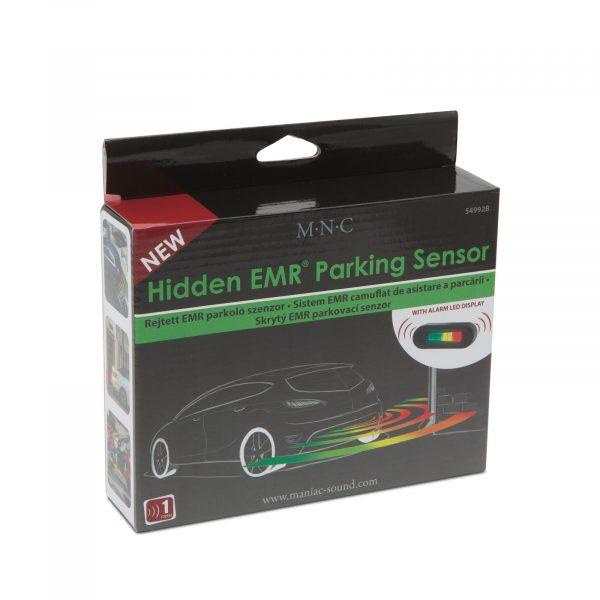 Nevidni parkirni senzorji EMR brez vrtanja 220 cm z LED zaslonom in alarmom