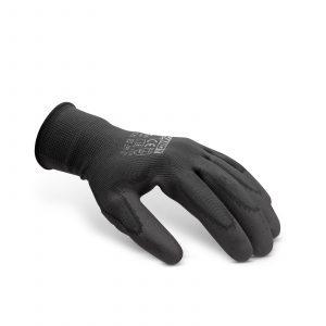 Nitrilne rokavice v črni barvi - L, 12 parov