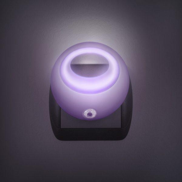 Nočna lučka Phenom LED s senzorjem svetlobe - roza