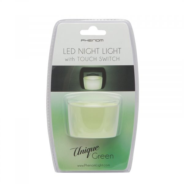 Nočna lučka Phenom LED s stikalom na dotik - zeleba
