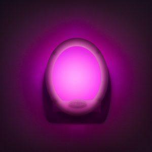 "Nočna lučka, spreminjanje barve - Premium ""Smooth"" - 7 LED"