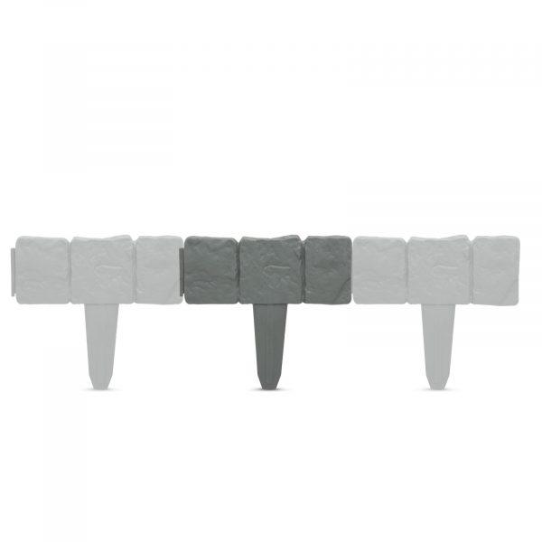 Obroba trate - 4 kosi / paket, velikosti 25 x 22,5 cm - plastika