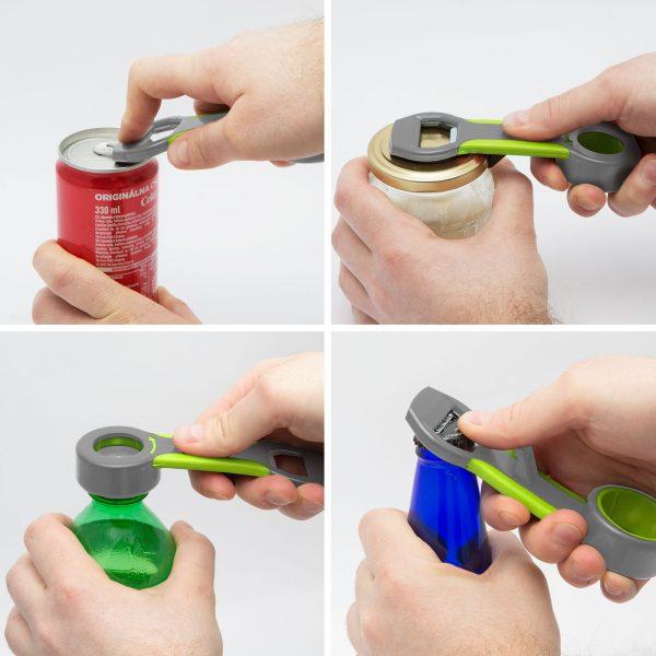 Odpirač za steklenice - 4 v 1
