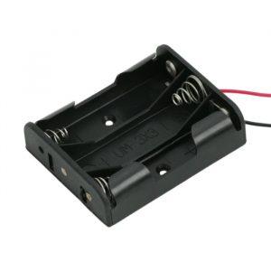 Ohišje za baterije 3 x AA