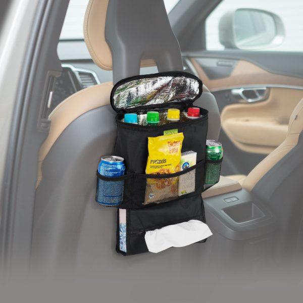 Organizator za avto za sedež s termo predalom 40 x 30 cm