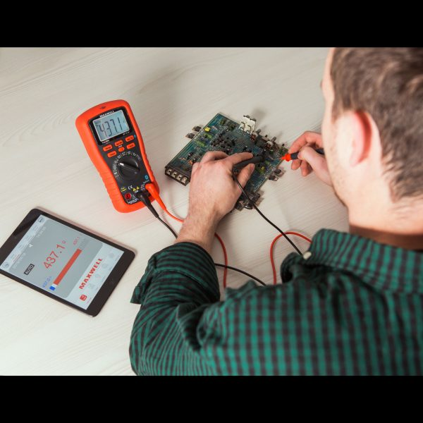 Pameten, digitalni multimeter Maxwell - Bluetooth, LED osvetlitev ozadja