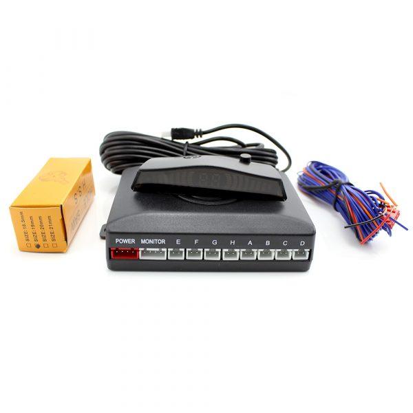 Parkirni senzorji z LCD zaslonom - 8 senzorjev - SP005