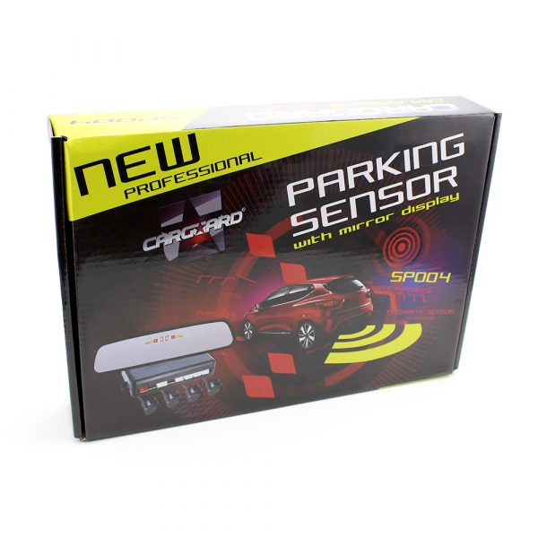 Parkirni senzorji z LCD zaslonom v vzrvratnem ogledalu - 4 senzorji - SP004