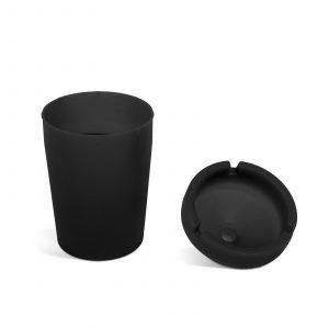 Pepelnik - črn - 110 mm