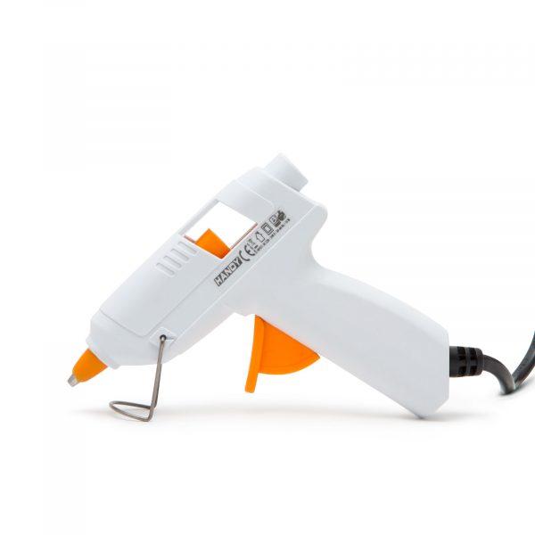 Pištola za vroče lepljenje 15W 7mm bela