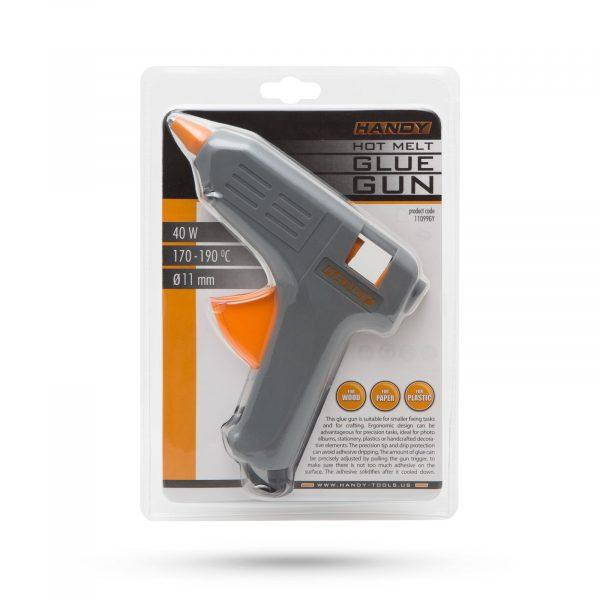 Pištola za vroče lepljenje 40W 11mm siva