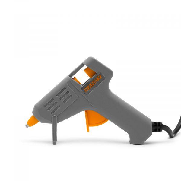 Pištola za vroče lepljenje - 7 mm - majhna, siva - 220 - 240 V - 15W