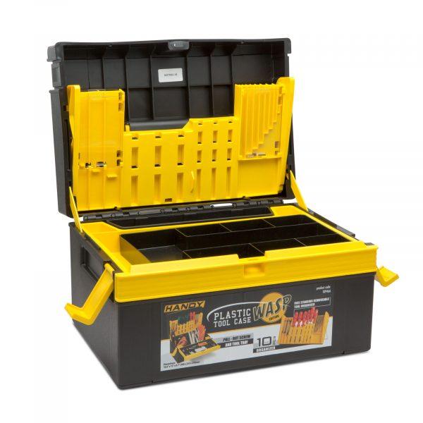 Plastična škatla za orodje - majhna - 380 x 220 x 270 mm