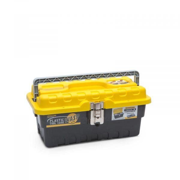 Plastična škatla za orodje - majhna - 395 x 177 x 210 mm