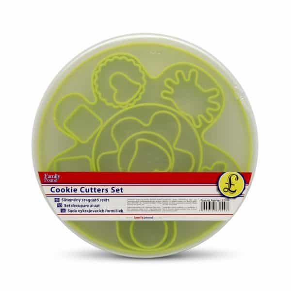 Plastični modelčki za kekse 13 kosov