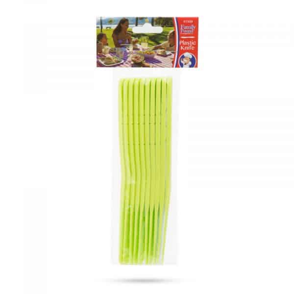Plastični nož - 10 kosov / paket