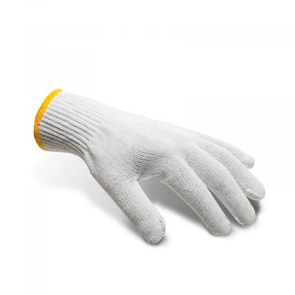 """Pletene bombažne nedrseče rokavice velikosti """"L"""""""