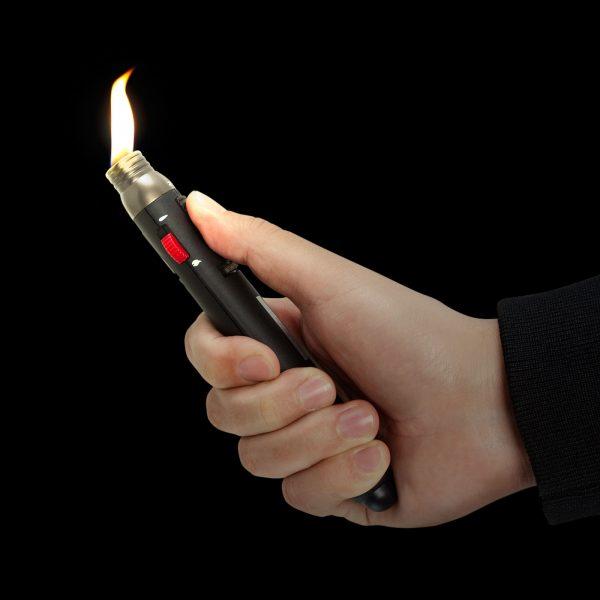 Plinski spajkalnik - običajni ali jetni plamen